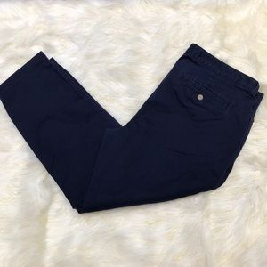 Gap Dark Blue Girlfriend Khaki 14/32R